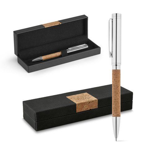 Coffret stylo liège / métal