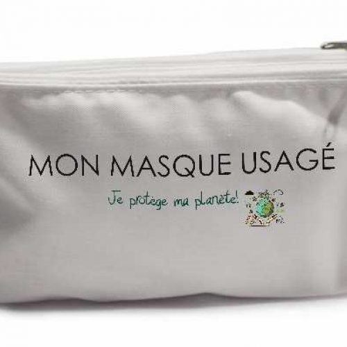 Trousse pour masques (usagés/propres)