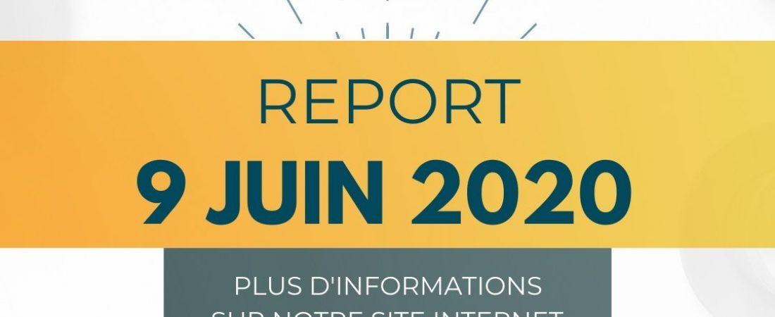 A vos Agendas!!! Report du Salon Effervescence au 9 juin 2020