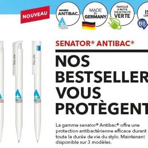 Stylo antibactérien