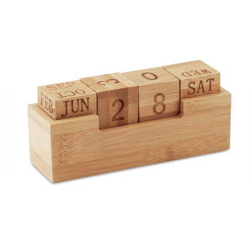 Calendrier perpétuel en bois