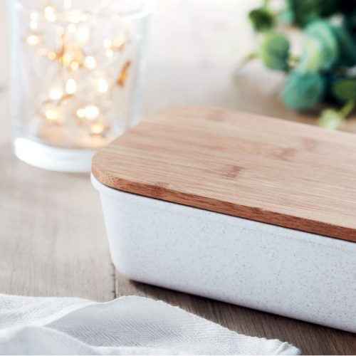 Lunch-box fibre de bambou