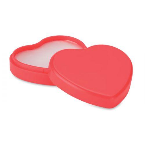 Baume à lèvres en forme de coeur
