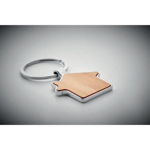Porte-clés bambou/métal