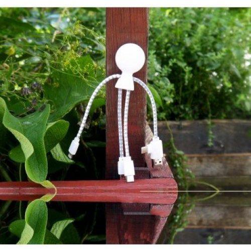 Câble de chargement Mr BIO (Recyclable et Biodégradable)