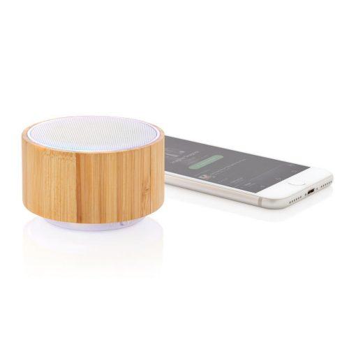 Enceinte Bluetooth en Bambou