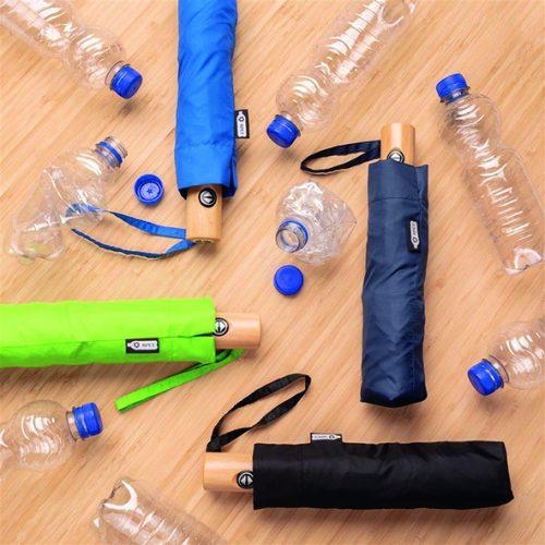 Parapluie recyclé pliable