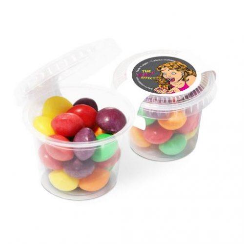 Pot de bonbons Skittles